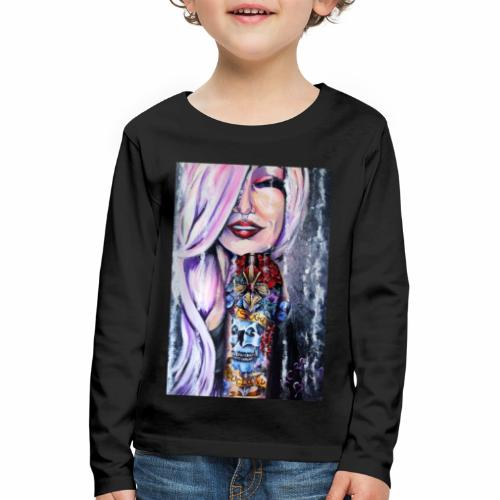 Sugar Babe Loves Scotland - Kids' Premium Longsleeve Shirt
