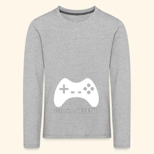 Gaming LEGEND - Kinderen Premium shirt met lange mouwen