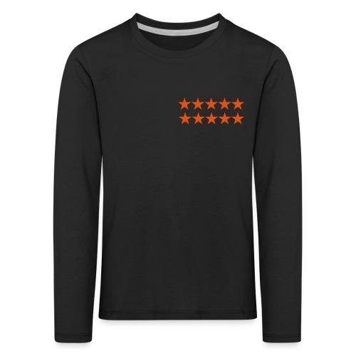 ratingstars - Lasten premium pitkähihainen t-paita
