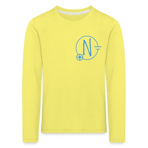 Logo1 blau - Kinder Premium Langarmshirt