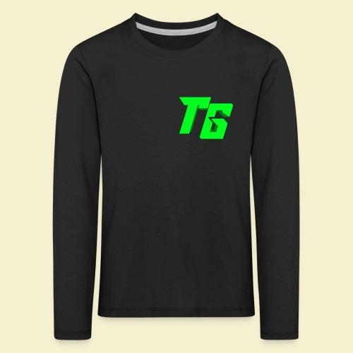 TristanGames logo merchandise - Kinderen Premium shirt met lange mouwen