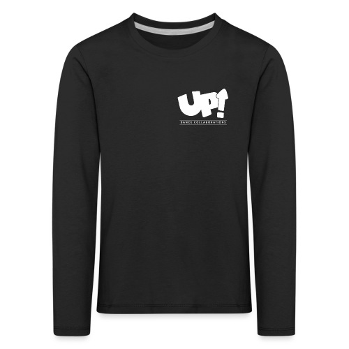 Up Dance White Logo - Kids' Premium Longsleeve Shirt