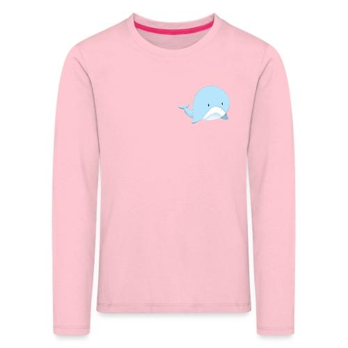 Whale - Maglietta Premium a manica lunga per bambini