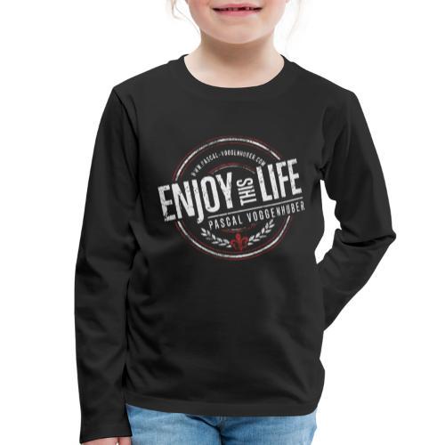 Enjoy this Life® & Fleur de Lys Pascal Voggenhuber - Kinder Premium Langarmshirt