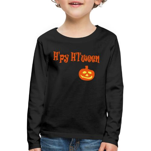 Happy Halloween - Kinder Premium Langarmshirt