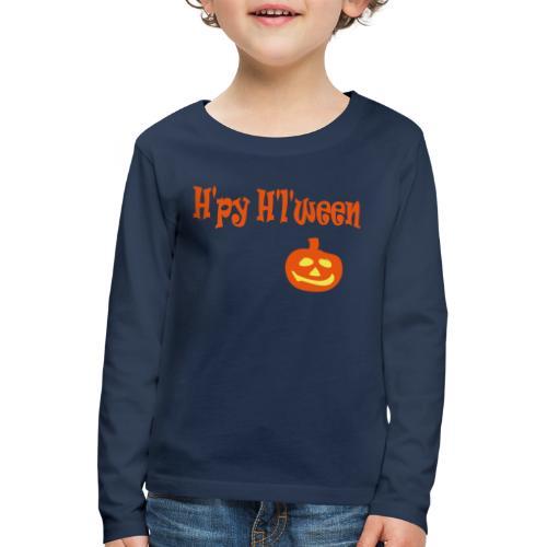 Happy Halloween - Kinder Premium Langarmshirt