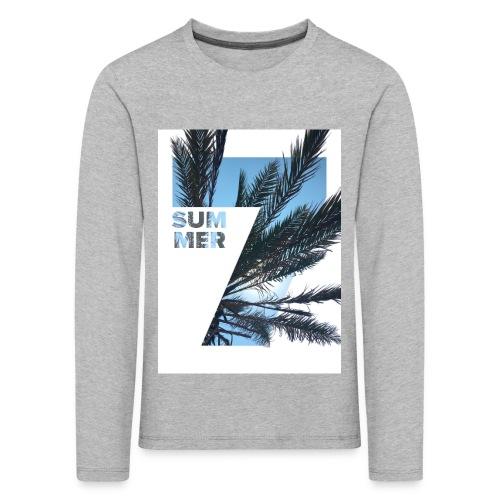 Summertime - Kinderen Premium shirt met lange mouwen