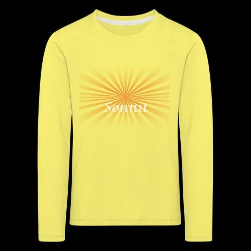 Sonnit Light Shrone - Kids' Premium Longsleeve Shirt