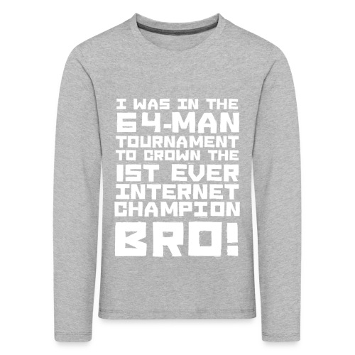 internetchamp - Kids' Premium Longsleeve Shirt