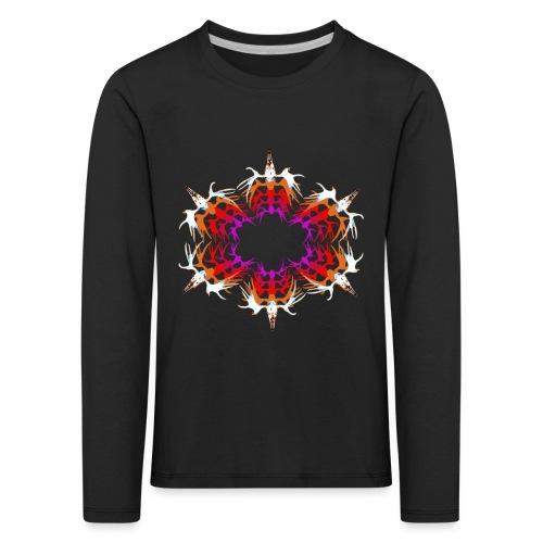 Circle of Friends - Lasten premium pitkähihainen t-paita