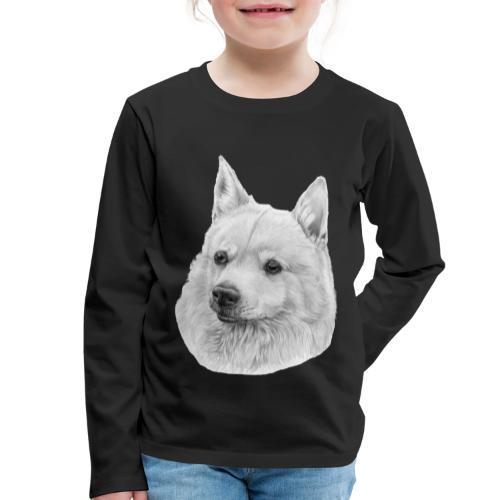 norwegian Buhund - Børne premium T-shirt med lange ærmer