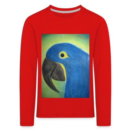Hyasinttiara - Lasten premium pitkähihainen t-paita