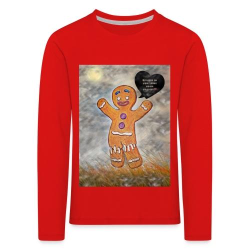 Petit biscuit pour veiller sur vos enfants ☺ - T-shirt manches longues Premium Enfant