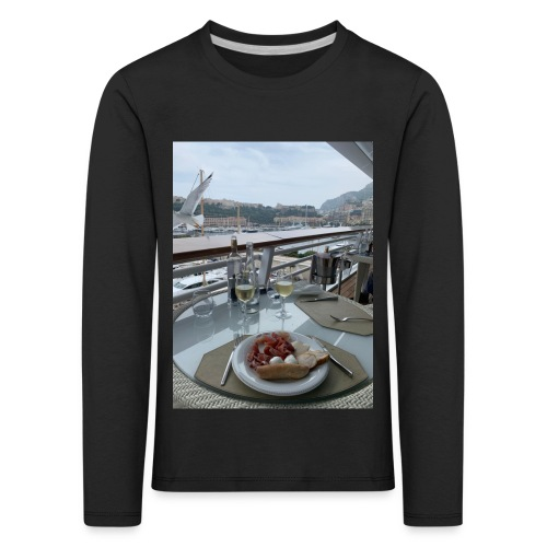 Monaco - Kinder Premium Langarmshirt