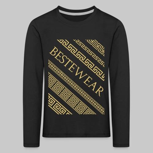 #Bestewear - Gold Chain´s - Kinder Premium Langarmshirt