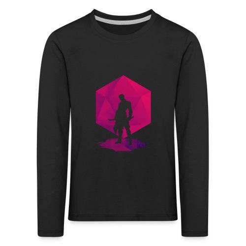 Varjo-salamurhaaja - Dungeons and Dragons d20 - Lasten premium pitkähihainen t-paita