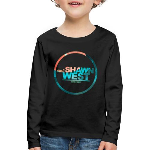 SHAWN WEST DISC JOKEY STYLE - Kinder Premium Langarmshirt