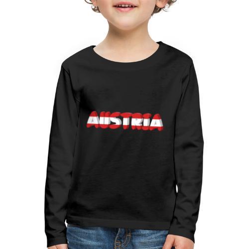 Austria Textilien und Accessoires - Kinder Premium Langarmshirt