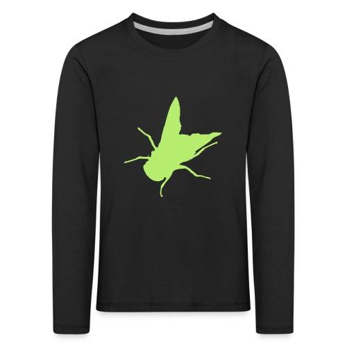 fliege - Kinder Premium Langarmshirt