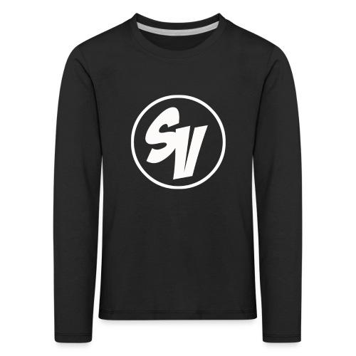 Design shirt png - Kinderen Premium shirt met lange mouwen