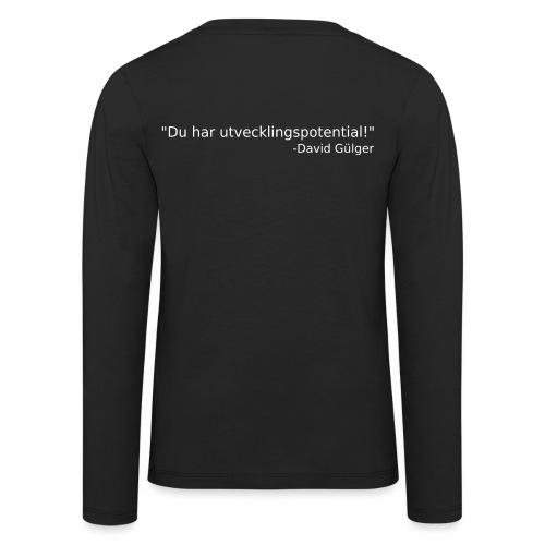 Ju jutsu kai förslag 1 version 1 vit text - Långärmad premium-T-shirt barn
