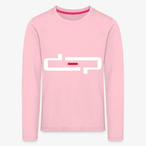 deplogo1neg red - Premium langermet T-skjorte for barn