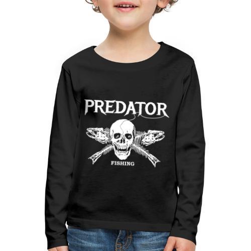 Predator Fishing T-Shirt - Kinder Premium Langarmshirt