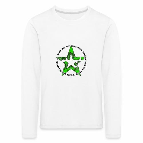 ra star slogan slime png - Kinder Premium Langarmshirt