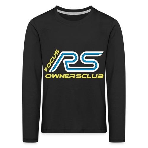 logo focus rs ownersclub shirt cmyk - Kinder Premium Langarmshirt