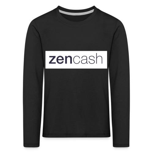 ZenCash CMYK_Horiz - Full - Kids' Premium Longsleeve Shirt