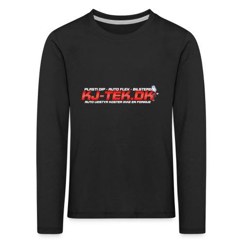 shirtlogo png - Børne premium T-shirt med lange ærmer