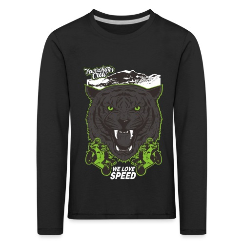 T-Shirt Bear Powershifter - Kinder Premium Langarmshirt