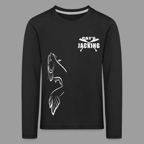 Cat's Jacking - T-shirt manches longues Premium Enfant