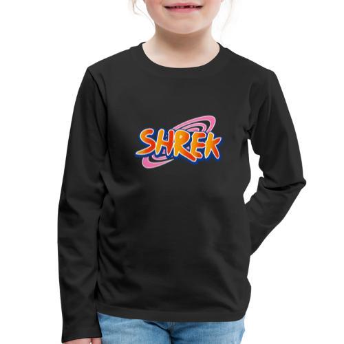 Shrek o Man - Långärmad premium-T-shirt barn