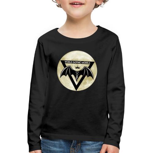 WGM Logo + Different is Beautiful   2 Sided Design - Kids' Premium Longsleeve Shirt
