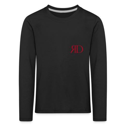 RD_Brust_rot - Kinder Premium Langarmshirt