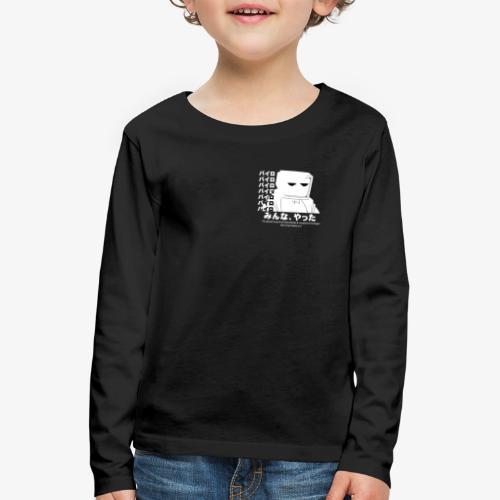 Pyro Black 'n White - Kids' Premium Longsleeve Shirt
