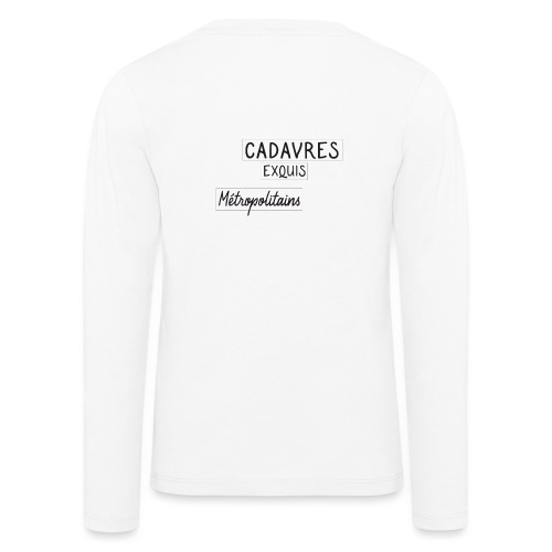Cadavres Exquis Métropolitains - T-shirt manches longues Premium Enfant