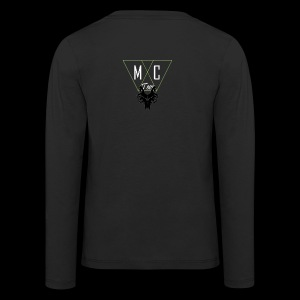 M C Tees NEW Logo on the NEW collection - Kids' Premium Longsleeve Shirt