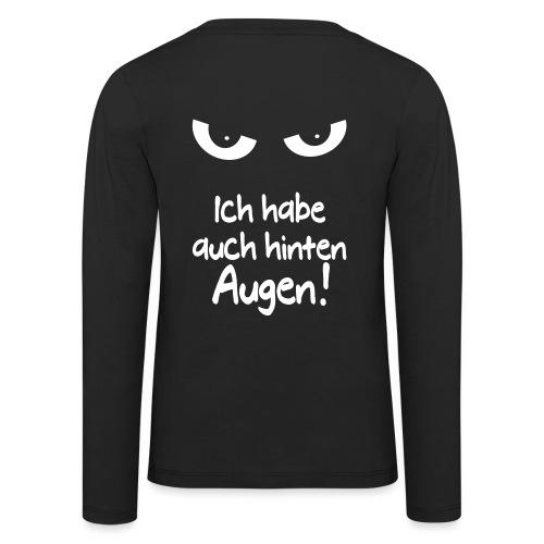Böser Blick Augen Schlechte Laune Sprüche Geschenk - Kinder Premium Langarmshirt