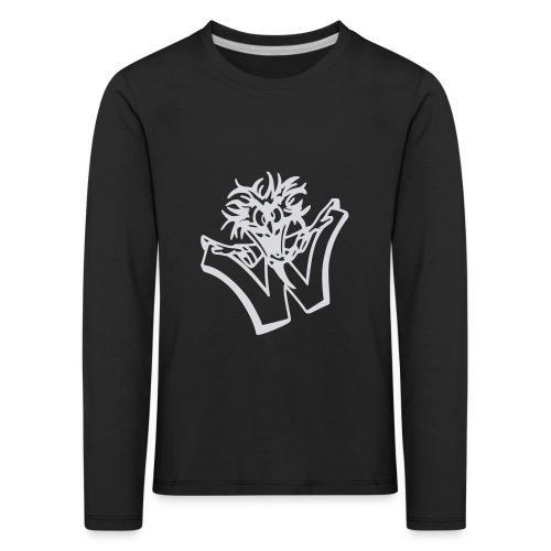 w wahnsinn - Kinderen Premium shirt met lange mouwen