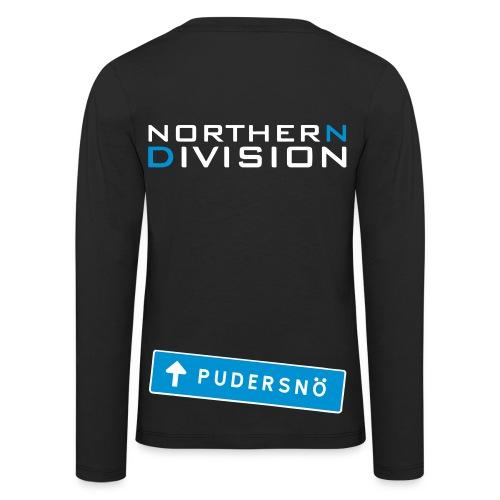 pudersn_2vari - Lasten premium pitkähihainen t-paita