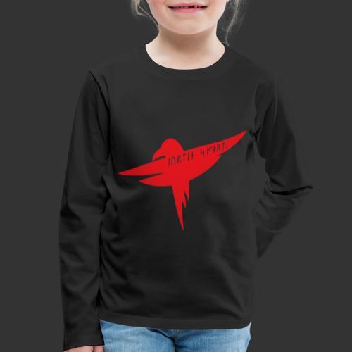 Raven Red - Kids' Premium Longsleeve Shirt