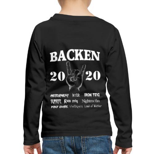 Backen 2020 | Lustiges Backen mit den größten - Kinder Premium Langarmshirt