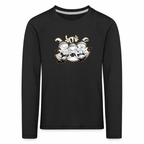 dont tim timmey ver01 - Børne premium T-shirt med lange ærmer