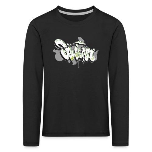 Mesk 2Wear graffiti style 7up ver02 - Børne premium T-shirt med lange ærmer