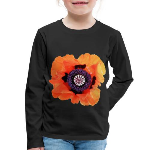 TIAN GREEN - Mohnblüte 2020 01 - Kinder Premium Langarmshirt