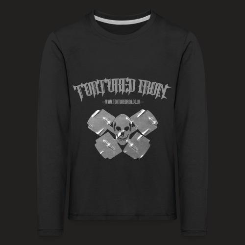 skull - Kids' Premium Longsleeve Shirt