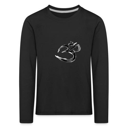 Black OM - Långärmad premium-T-shirt barn