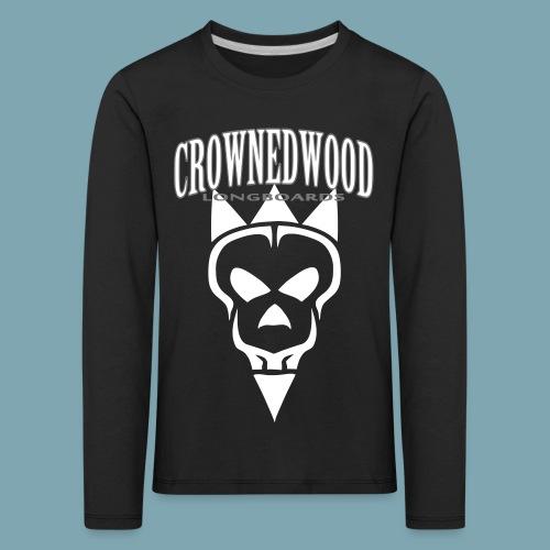 SKULL&CROWNED_Perfect_ver - Kinder Premium Langarmshirt